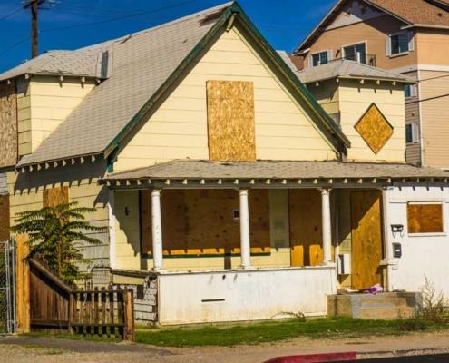 Dilapidated House - Code Enforcement