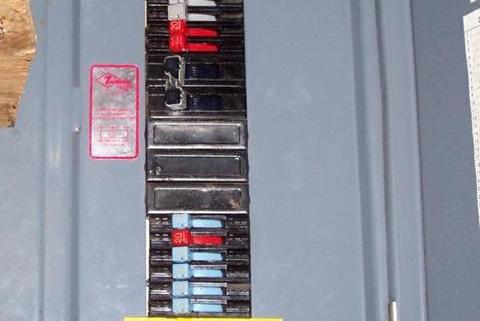 Electrical Panel Panel