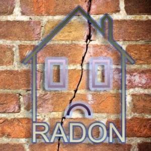 radon testing photo