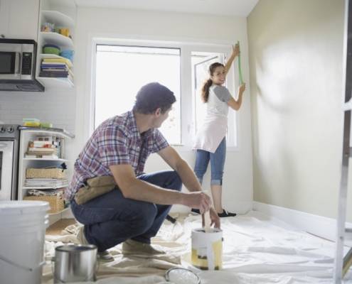 house painting | On Target Home Inspection Home sell faster Orland Park, IL