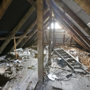 Disaster Attic | On Target Home Inspections | Attic Orland Park